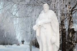 Памятник неизвестному солдату — Аллея славы (г.Вязники)