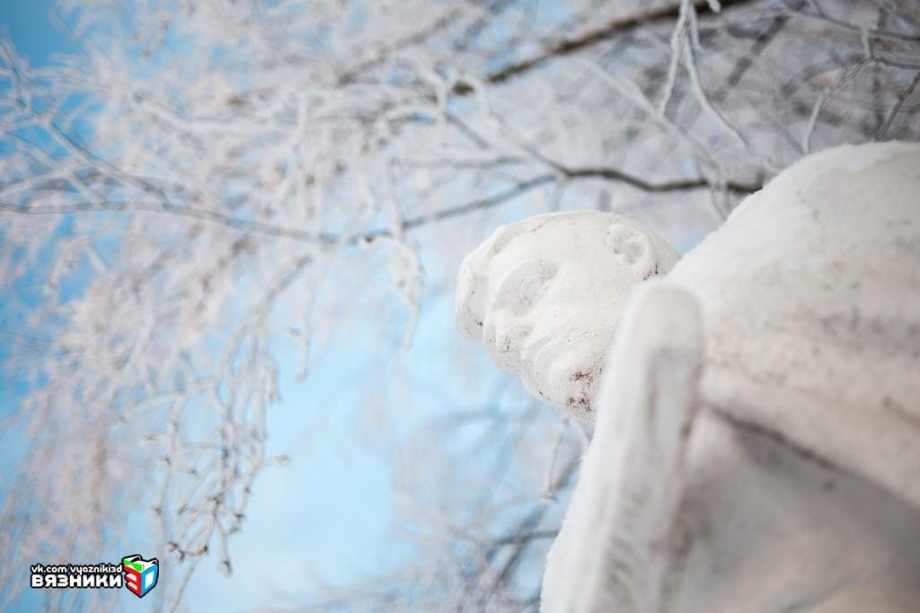 Памятник неизвестному солдату - Аллея славы (г.Вязники) 03