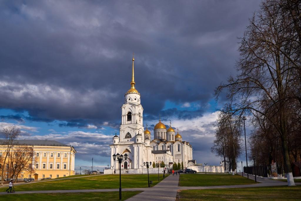 Прекрасное, грозное, апрельское небо над Владимиром - II 02