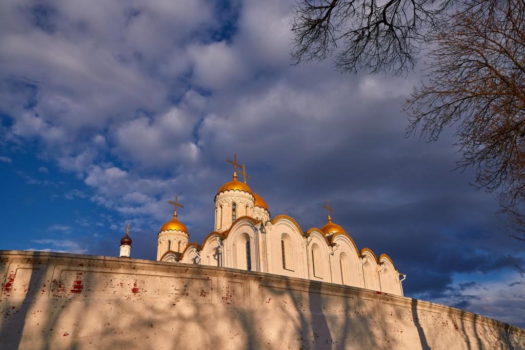 Прекрасное, грозное, апрельское небо над Владимиром - II 03