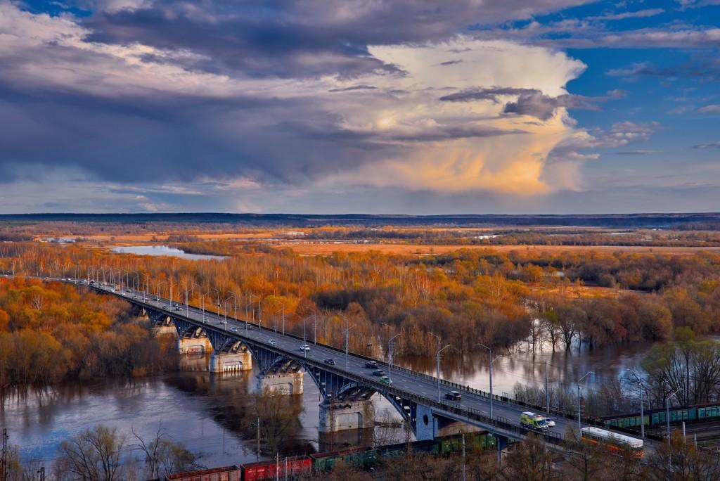 Прекрасное, грозное, апрельское небо над Владимиром - II 07