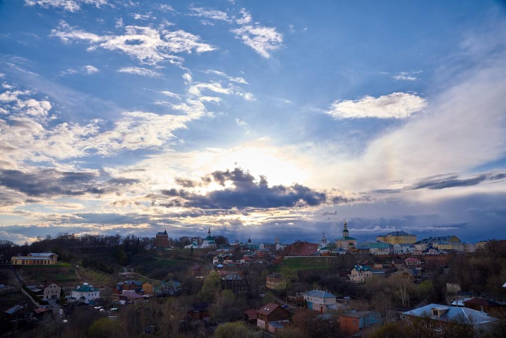 Прекрасное, грозное, апрельское небо над Владимиром - II 08