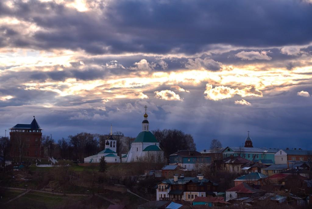 Прекрасное, грозное, апрельское небо над Владимиром - II 09