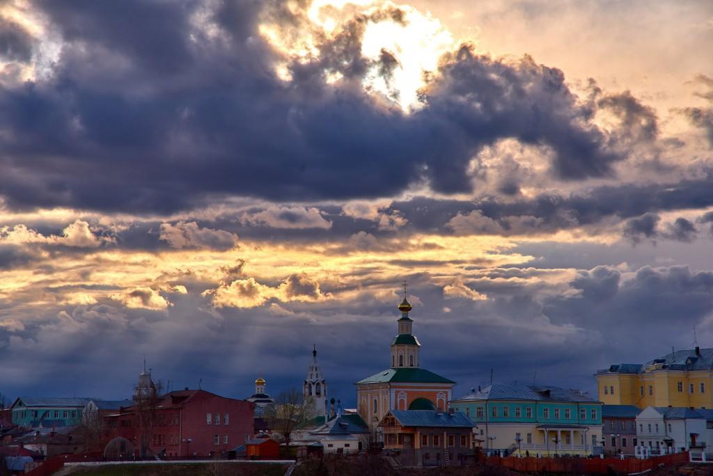 Прекрасное, грозное, апрельское небо над Владимиром - II 10