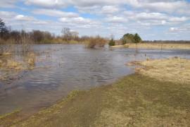 Разлив Клязьмы в деревне Любец, Ковровский район
