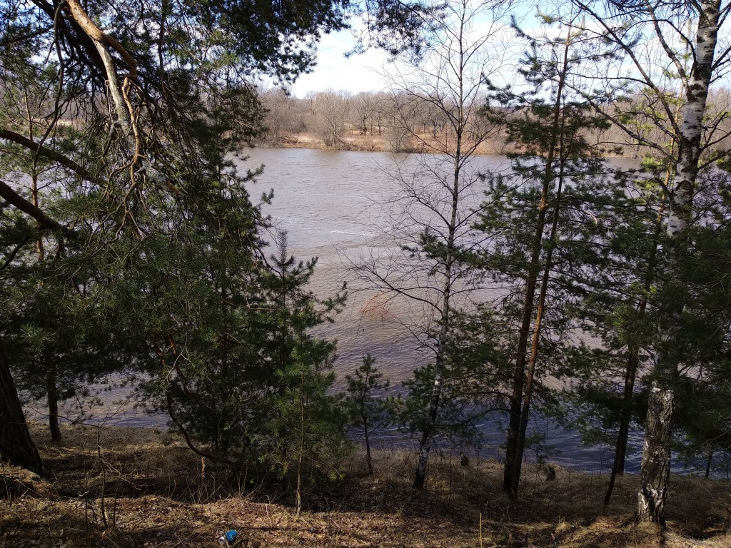 Разлив Клязьмы в деревне Любец, Ковровский район 10