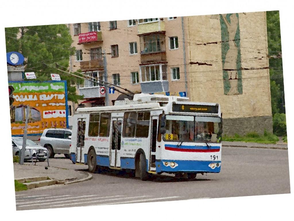 Стихотворение про Владимирский троллейбус