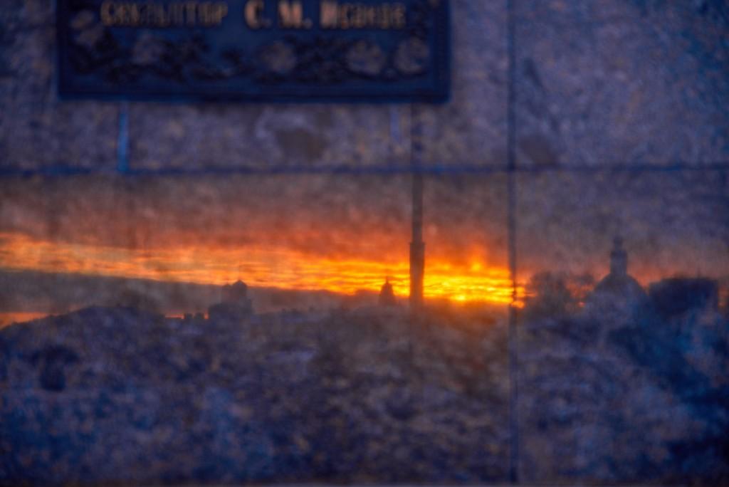 Удивительный мартовский закат во Владимире 06