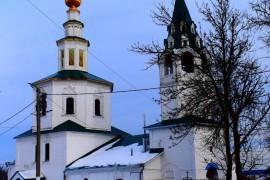 Церковь Николая Чудотворца на Николо-Галейской улице города Владимира