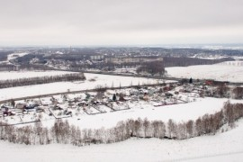 г.Вязники со стороны д.Болымотиха (панорама)