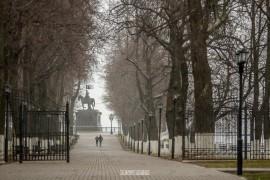 2018_04_22 Хмурь и снежок во Владимире