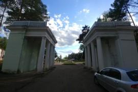 Муром, Вербовский, стадион Авангард. Работа по благоустройству.