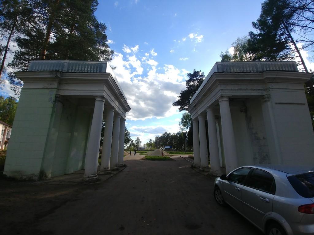 Муром, Вербовский, стадион Авангард. Работа по благоустройству. 01