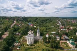 Благовещенский монастырь с высоты, Вязники