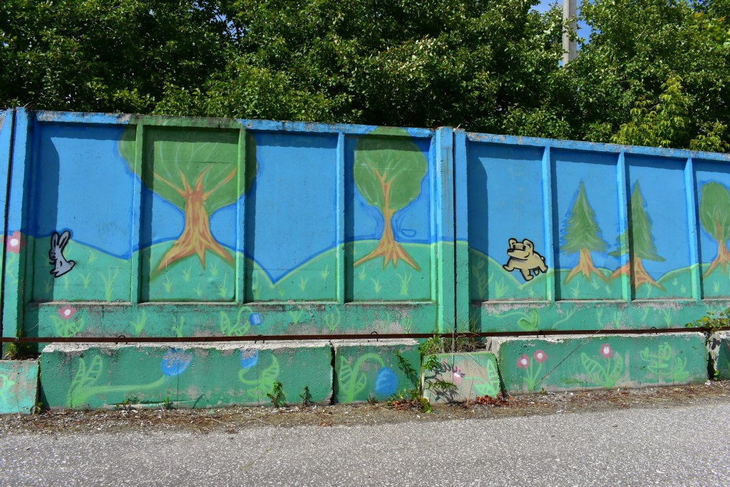 Граффити в парке Добросельский, г. Владимир 05