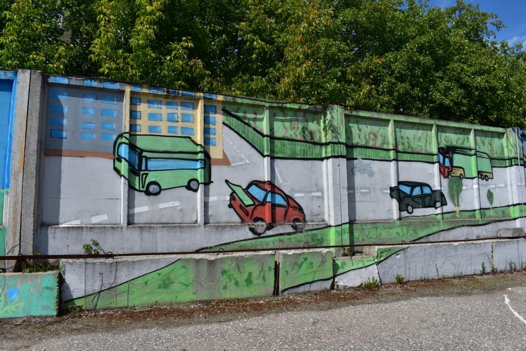 Граффити в парке Добросельский, г. Владимир 06