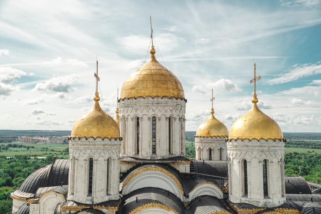 Лето во Владимире С колокольни Успенского Собора 00