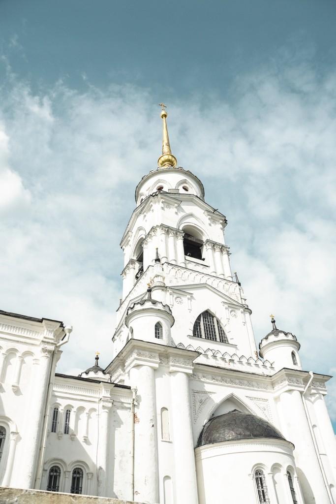 Лето во Владимире С колокольни Успенского Собора 09