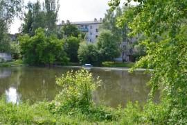 Михайловский пруд во Владимире.