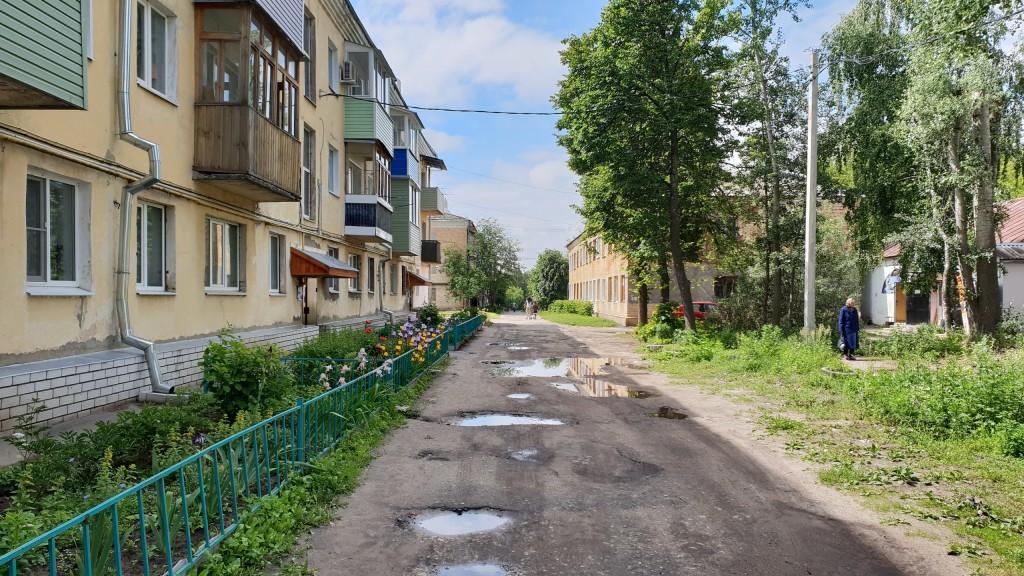 Муром, Вербовский, улица Ленинградская