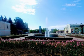 Муром, Площадь Победы в мае 2018