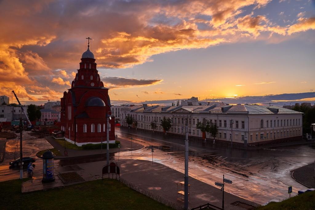 Невероятное небо над Владимиром ( на закате, июнь 2018 ) 05