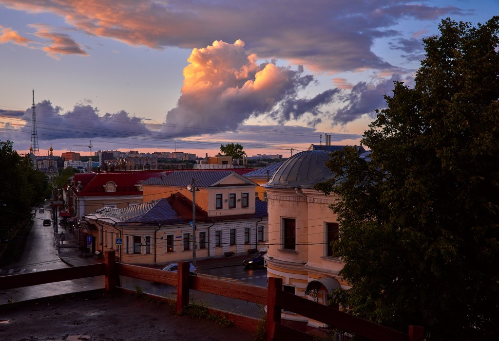 Невероятное небо над Владимиром ( на закате, июнь 2018 ) 08