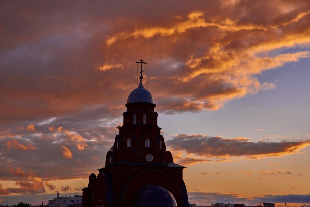 Невероятное небо над Владимиром ( на закате, июнь 2018 ) 10