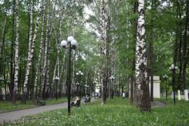 Сквер у Дома культуры молодёжи. Владимир.
