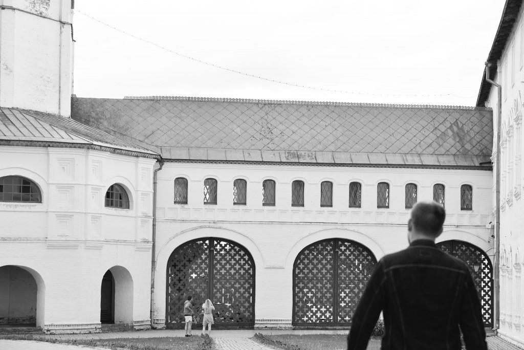 Суздаль. Кремль. Черно-белая серия 03