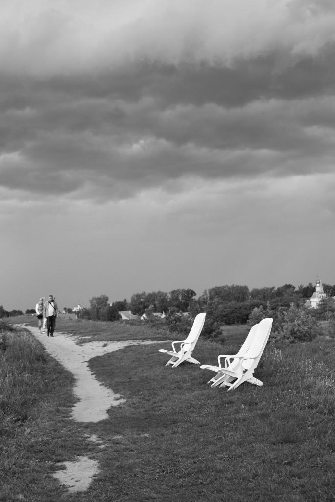 Суздаль. Кремль. Черно-белая серия 07
