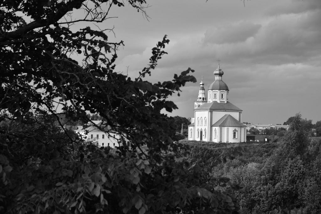 Суздаль. Кремль. Черно-белая серия 08