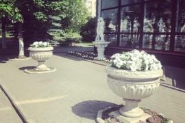 Цветочный магазин на проспекте Ленина, г. Владимир