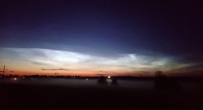 Александров, туман на рассвете над рекой