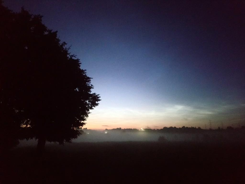 Александров, туман на рассвете над рекой 02