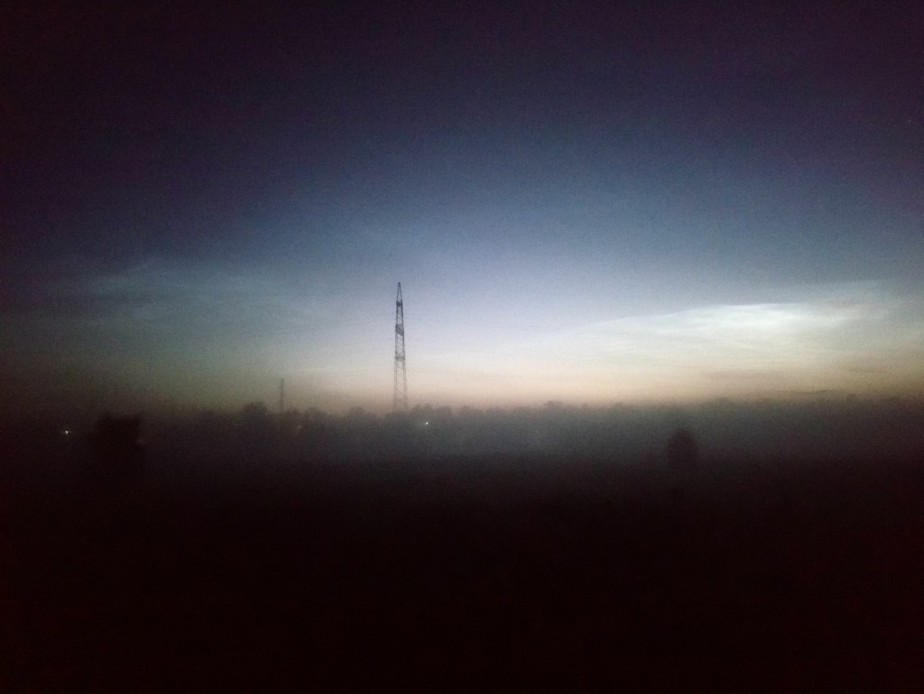 Александров, туман на рассвете над рекой 04