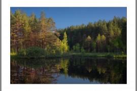 Живописное карстовое озеро, Вязниковский район