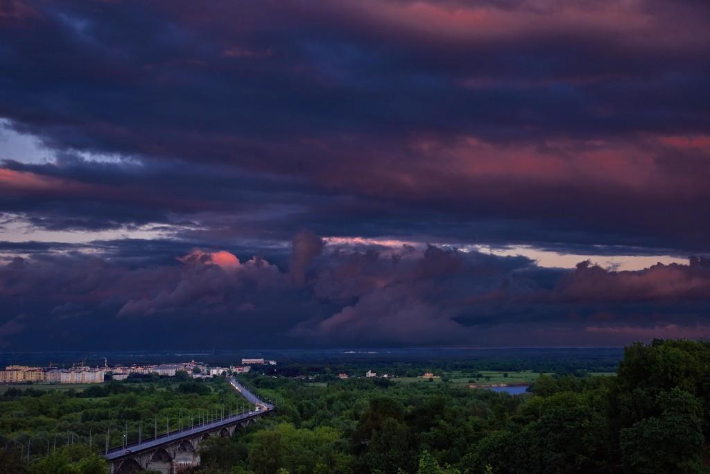 Июньские закаты над Владимиром ( 2018 ) 04
