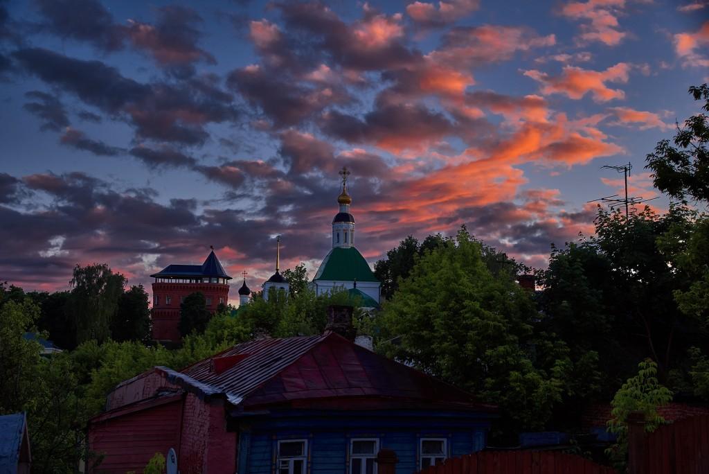 Июньские закаты над Владимиром ( 2018 ) 05