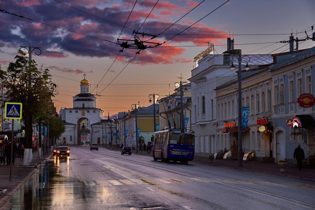 Июньские закаты над Владимиром ( 2018 ) 09