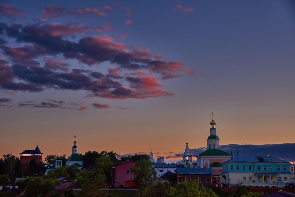 Июньские закаты над Владимиром ( 2018 ) 10
