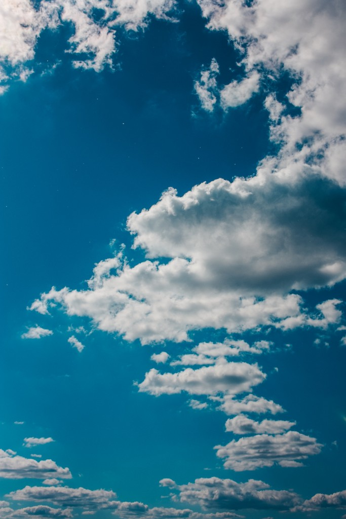Летние облака над Владимиром 01