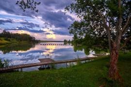 Июльское небо над Улово, Суздальский район