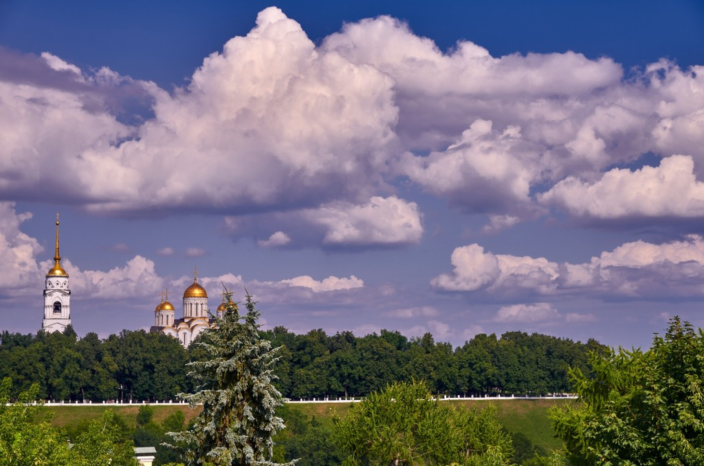 Облака над Владимиром ( июнь-июль 2018 ) 06