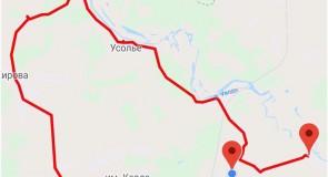 Путешествие по лесным маршрутам Ковровскрго, Камешковского района Владимирской обл