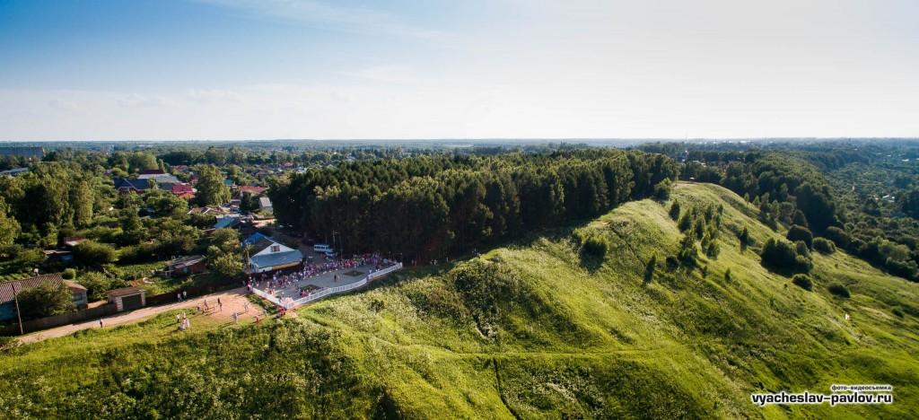Смотровая площадка на Вязниковском венце - День молодёжи