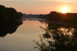 Утренняя выходка к церкви Покрова-на-Нерли и к стрелке рек Нерль и Клязьма
