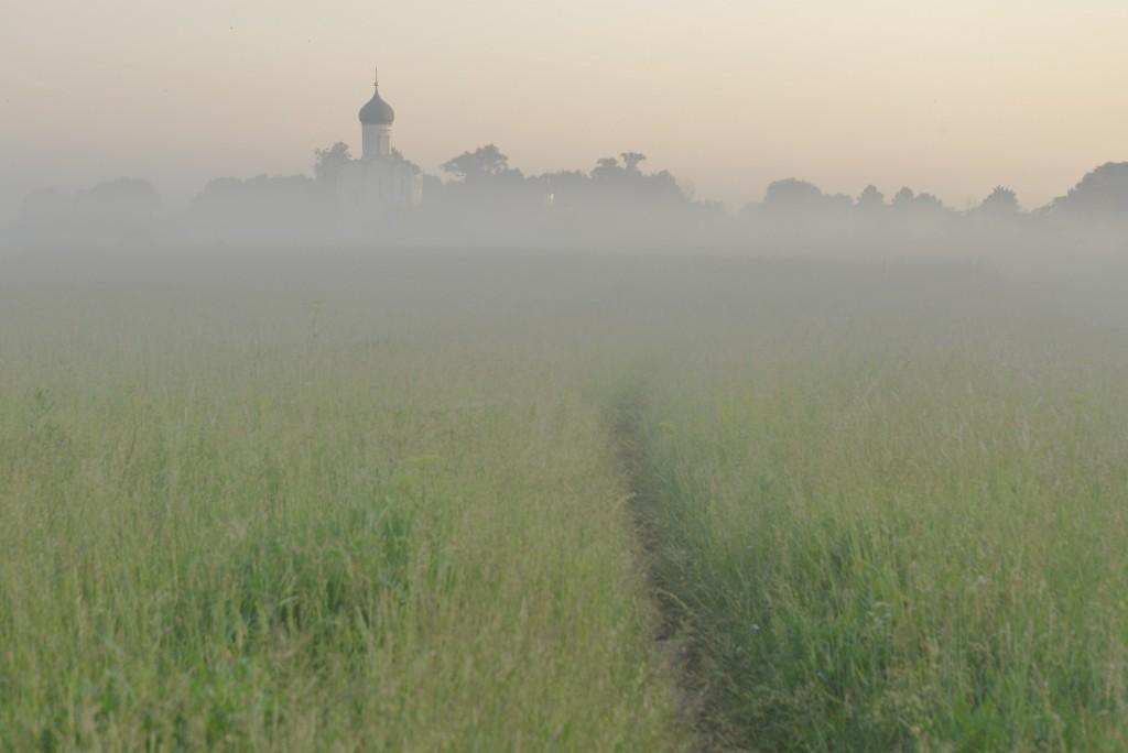Утренняя выходка к церкви Покрова-на-Нерли и к стрелке рек Нерль и Клязьма 03