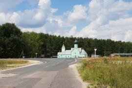 Церковь Ильи Муромца на Вербовском кладбище в г. Муром Владимирской области