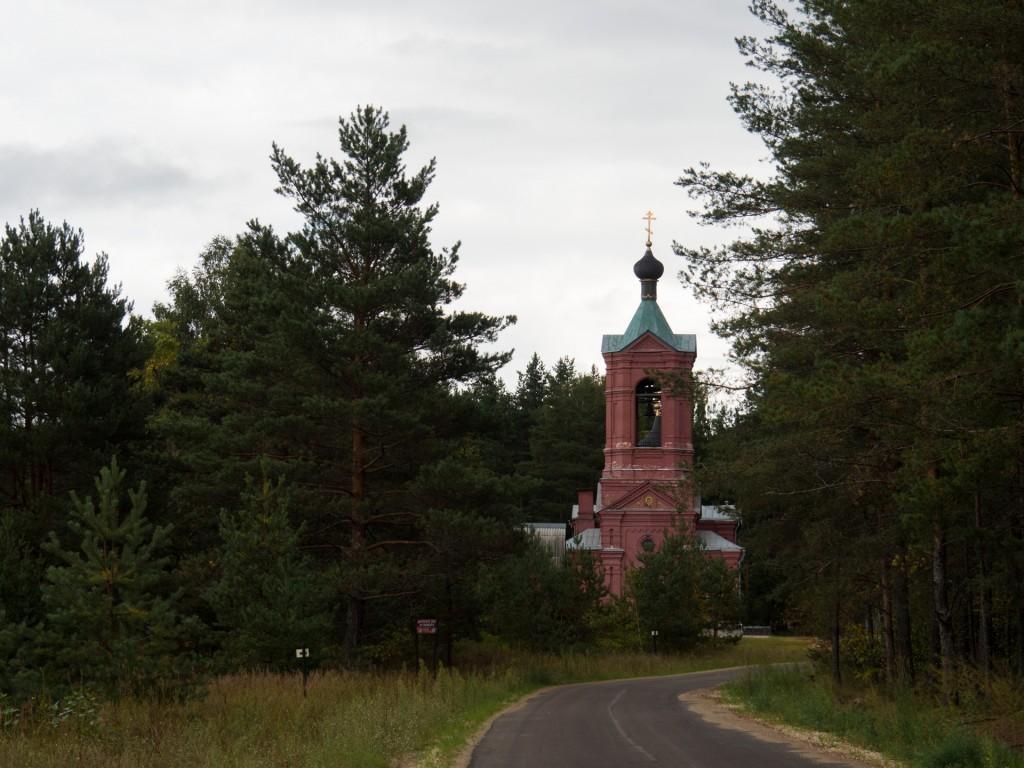 Клязьма у Марково, речка Верхулька, протекающая через село (г. Покров) 03